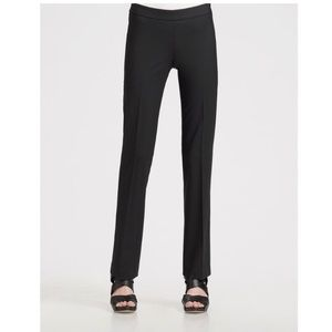 Theory Black Huela Wool Pants